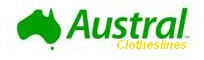 You can trust Australian made, Austral clotheslines Sydney logo