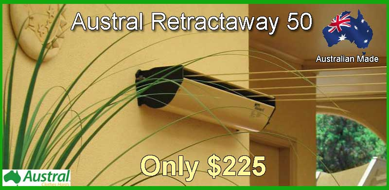 Austral Retractable 50 clothesline