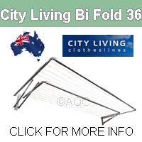 City  Living Bi Fold 36 clothesline