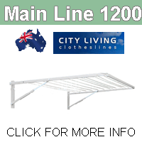 City Living Main Line 1200 clothesline