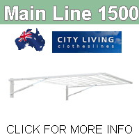 City Living Main Line 1500 clothesline