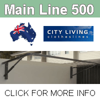 City Living main Line 500 clothesline