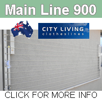 City Living Main Line 900 clothesline