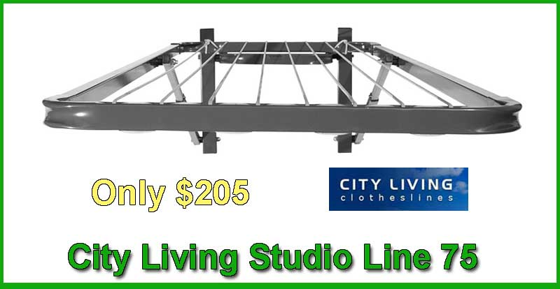 City living Studio Line 75 clothesline
