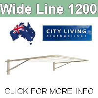 City Living Wide Line 1200 clothesline