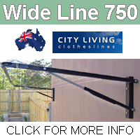 City Living Wide Line 750 clothesline