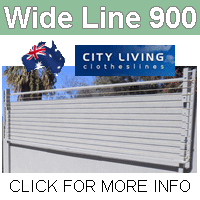 City living Wide Line 900 clothesline