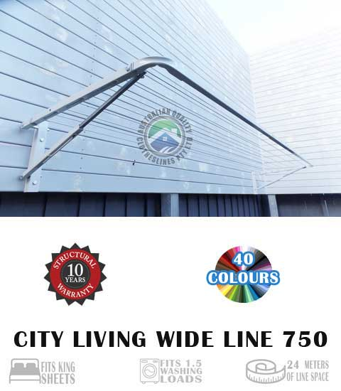 City Living Wide Line 750