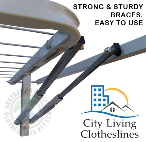 City Living Bi Fold steel arms and braces