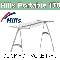 Hills Portable 170 Portable Clothesline