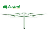 Austral Elite 4 fixed rotary clothesline