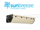 Sunbreeze retractable 4 clothes line
