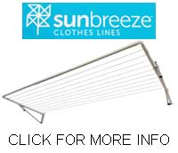 Sunbreeze Single folding clothesline