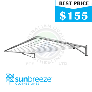 Sunbreeze single fold down clothesline images