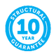 Sunbreeze 10 year Guarantee icon