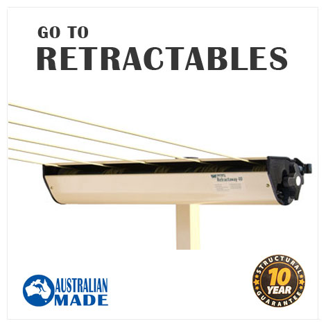 Retractable clothesline